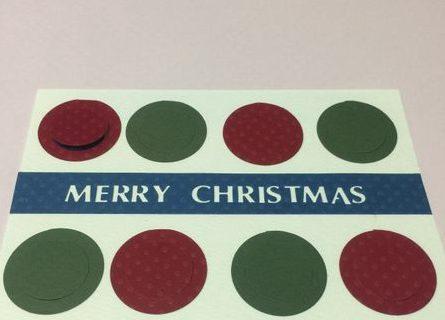 クリスマスカード簡単手作り彼氏におしゃれカードや飛び出す可愛いカードクラフトパンチクリスマスツリーマステ