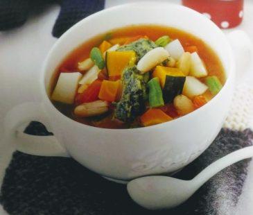 デトックススープ レシピ 美味しい 地中海スープ 野菜スープ バジル 痩せるスープ 食材 効能 成分 地中海式ダイエット