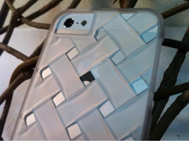 メッシュのラバーコーティングケースiPhone5s2