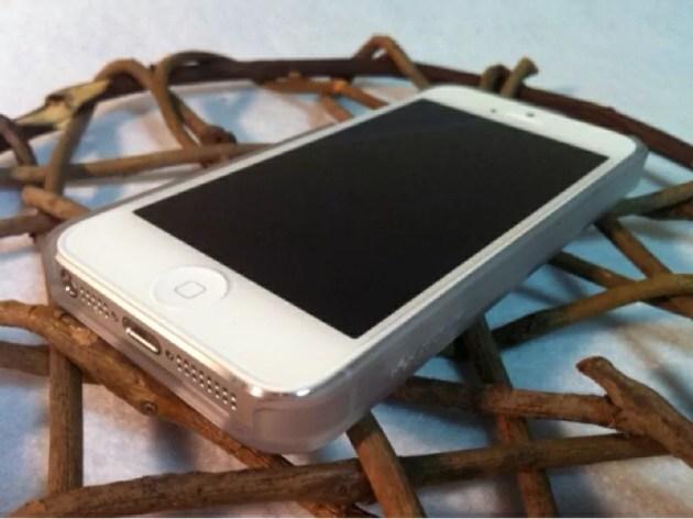 メッシュのラバーコーティングケースiPhone5s3