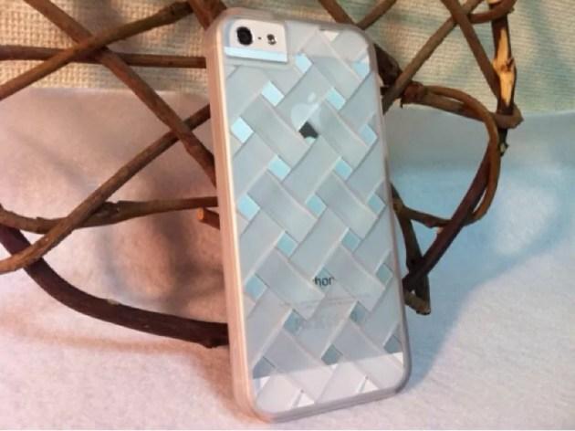 メッシュのラバーコーティングケースiPhone5s1