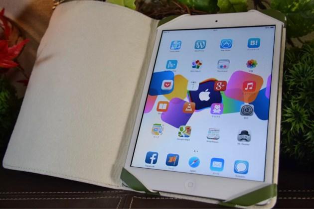 iPad miniの超軽量カバー軽い1