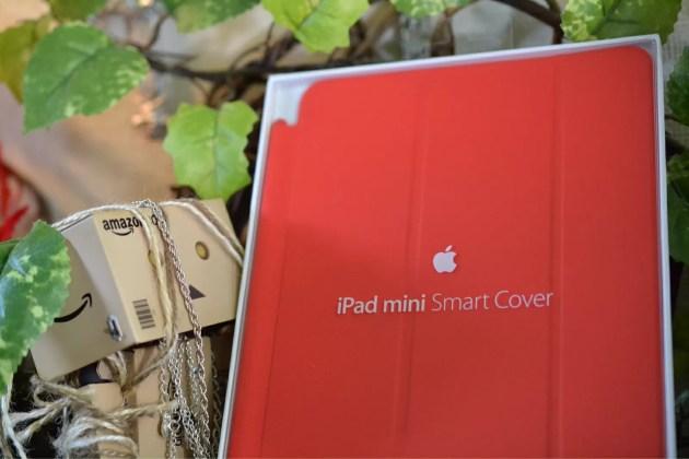 Apple純正iPad miniスマートカバー表紙