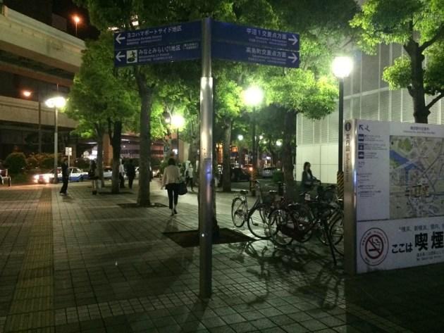 横浜で一番有名な柱