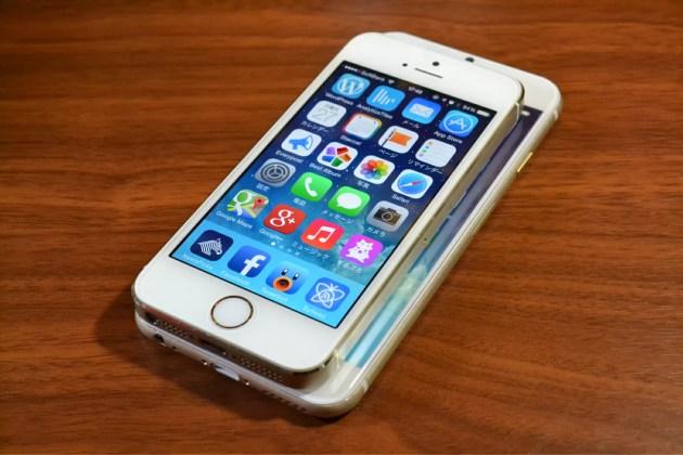 iPhone5sとiPhone6の大きさ比較3