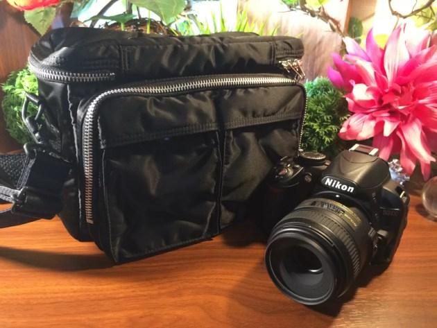 ポーターのカメラバッグがオススメ