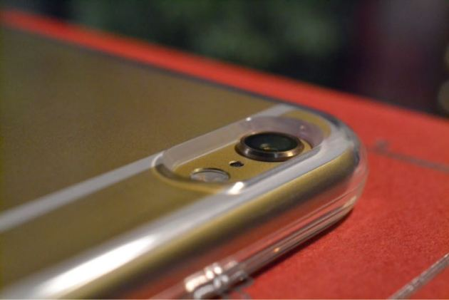 SpigenカプセルiPhone6ケースカメラ周り1