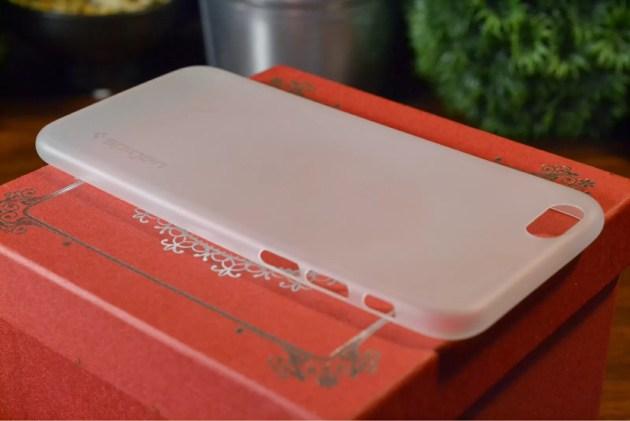 SpigenエアースキンiPhone6ケース4
