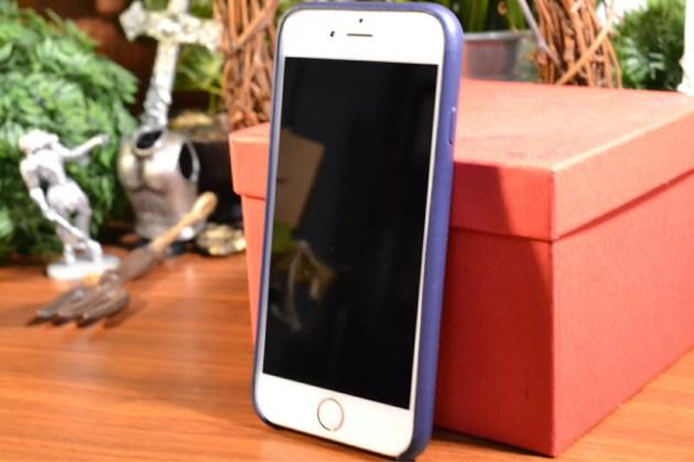 Apple純正iPhone6レザーケースレビュー2