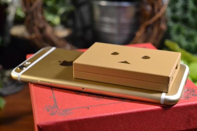 iPhone6とダンボーバッテリー大きさ比較1