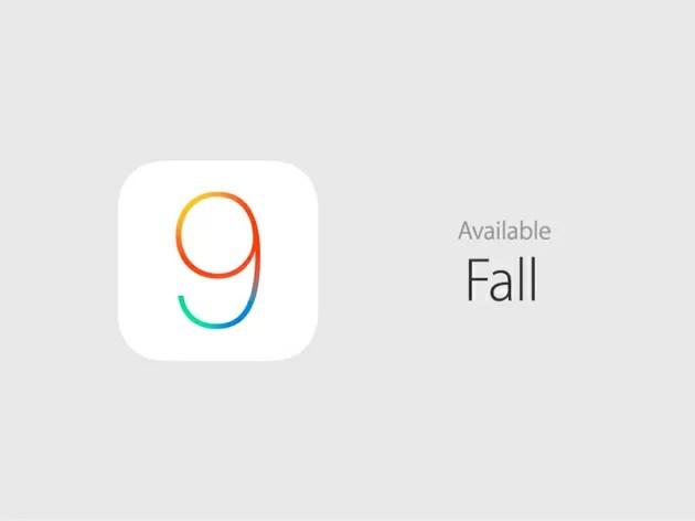 iOS9は秋のリリース