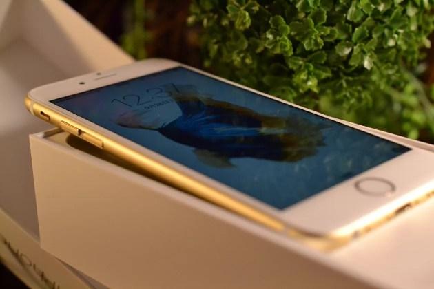開封されたiPhone6s