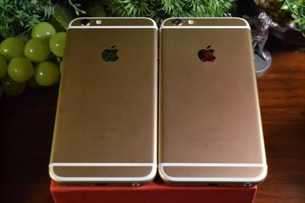 iPhone6sと6の比較2