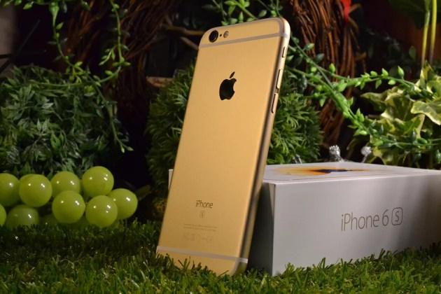 iPhone6sゴールドレビュー12
