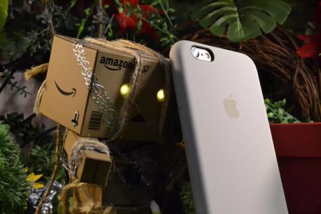 Apple純正iPhone6sシリコンケースアンティークホワイトレビュー