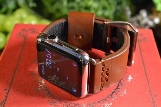 Apple Watchをパネライ風ベルトに1