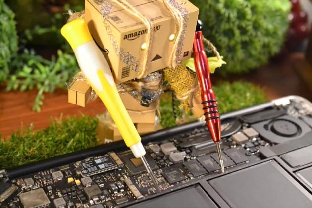 MacBook Airのトラックパッドがクリック出来なくなった場合に自力で修理してみる方法