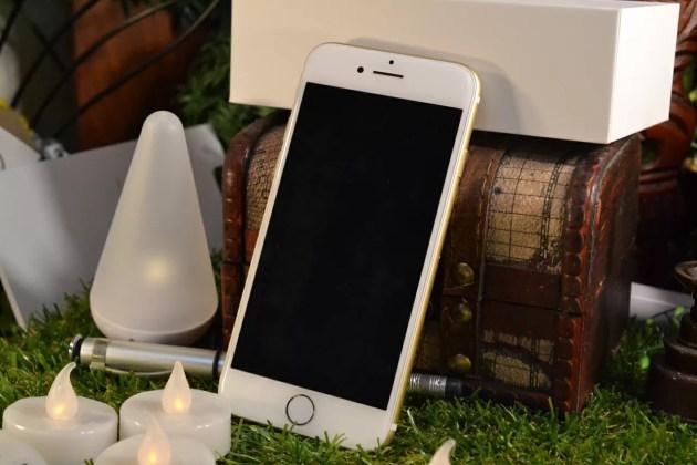 iPhone7開封の儀式完了