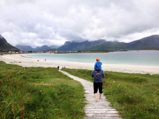 Reisen mit Kind – Paradies Lofoten