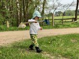 Kinderkleidung von Babauba im Einsatz