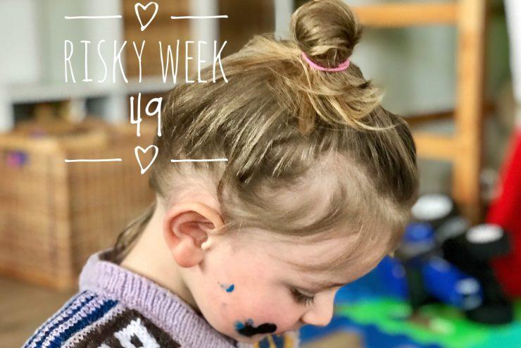 Risky Week – Merlin beim Malen