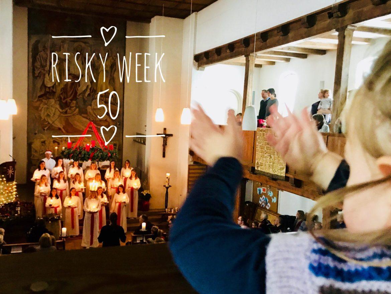 Risky Week 50 – Merlin beim Luciafest