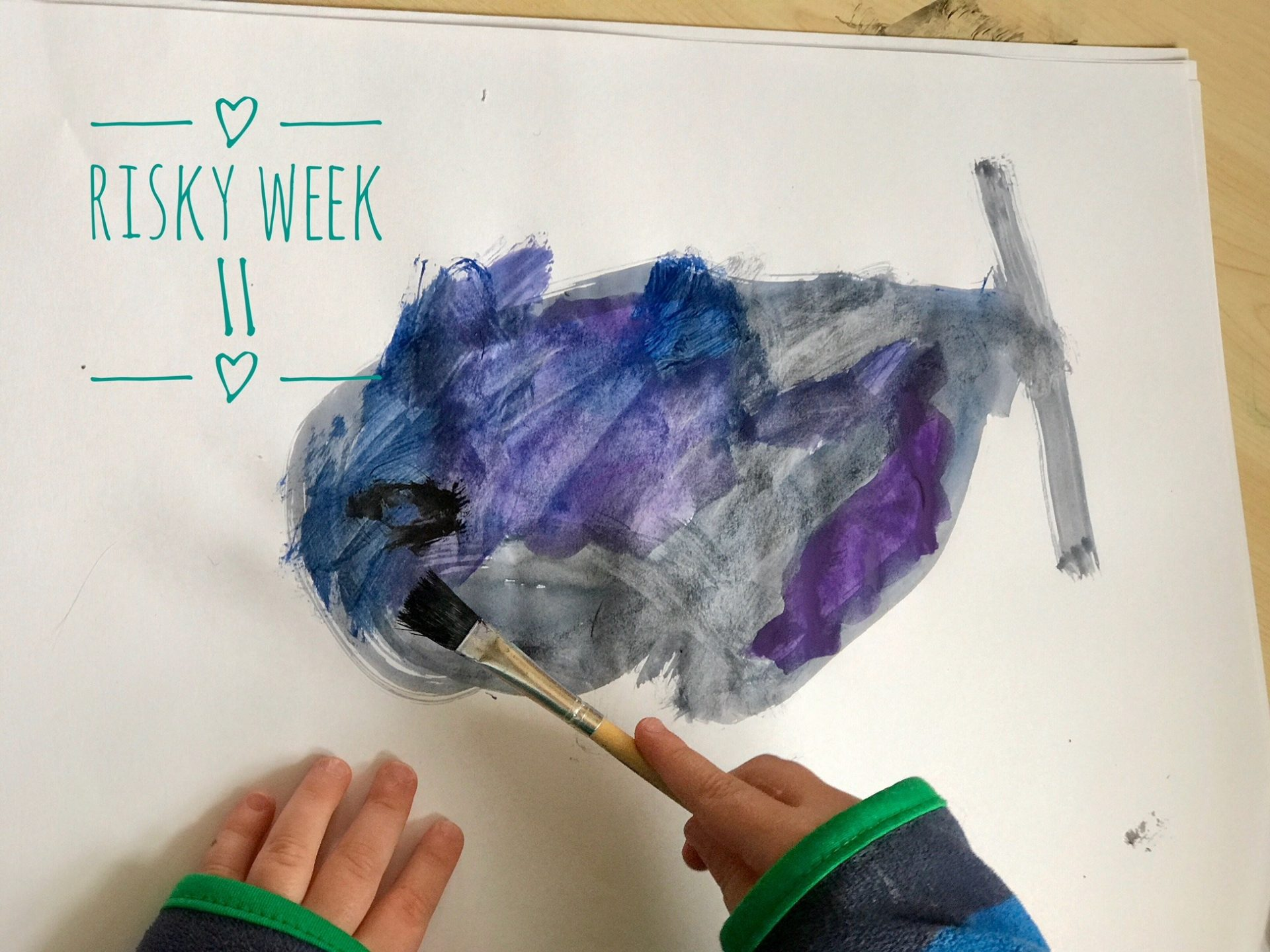 Risky Week 11 – Merlin malt seinen ersten Hai