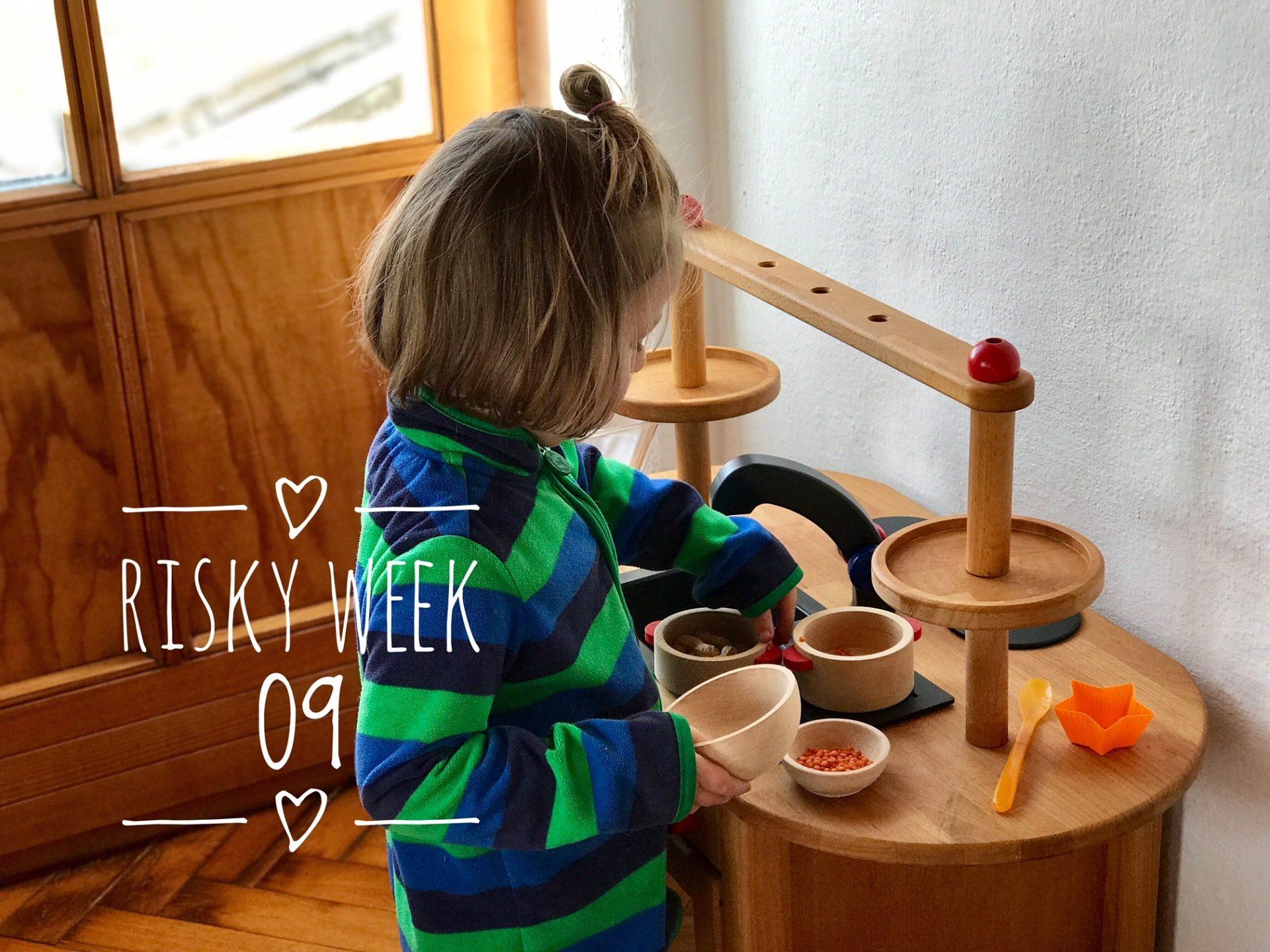 Risky Week 09 – Merlin mit seiner neuen alten Spielküche