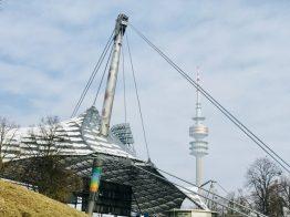 Der Olympiapark in München