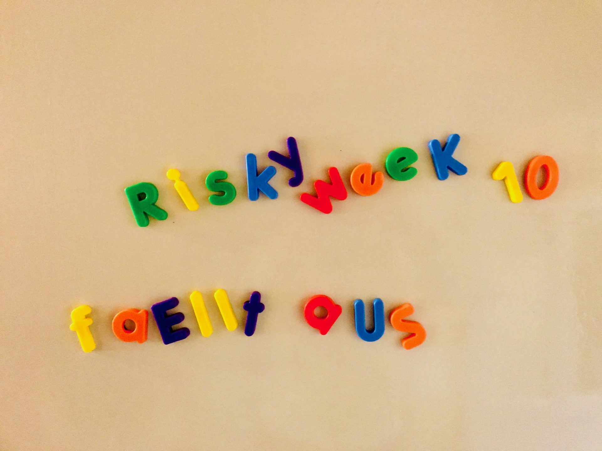 Risky Week 10 fällt aus