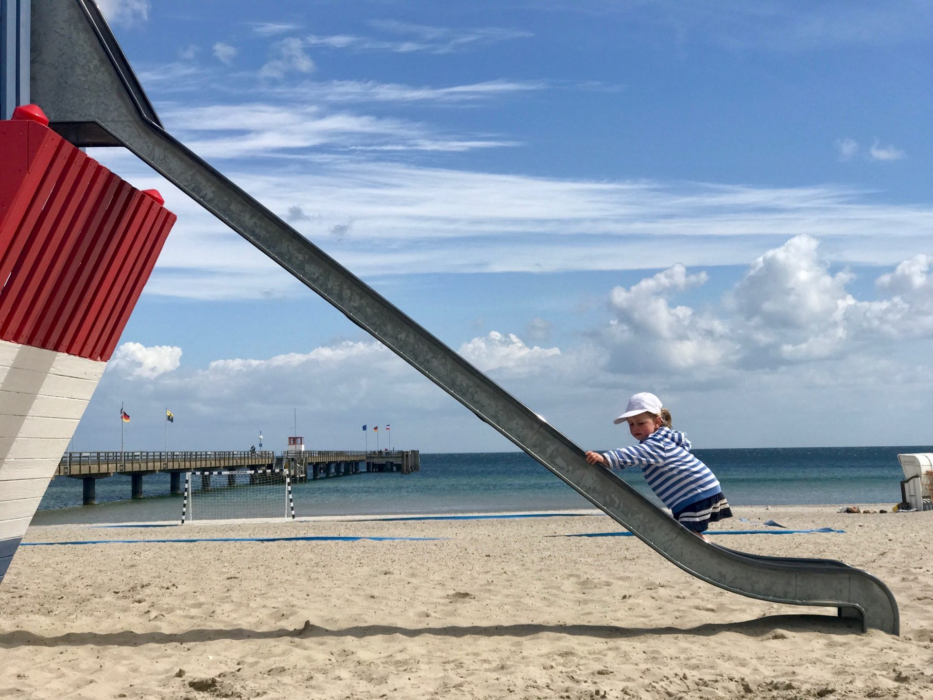Ferien am Meer – Merlin ist begeistert
