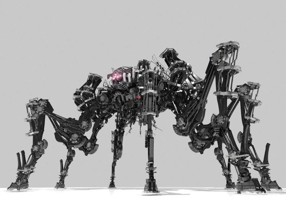 バイナリードメインのロボットの画像