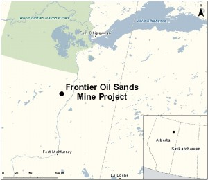 Frontier Oil Sands Mine Project