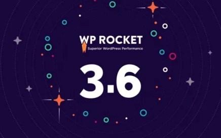 WP Rocket 3.6 release