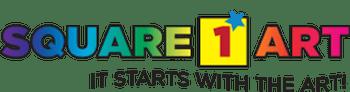 square 1 art logo