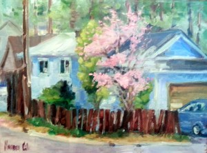 Joy house plein air