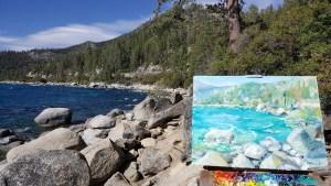 Tahoe St Beach Plein Air