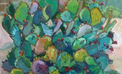 Colourful Prickly Pear