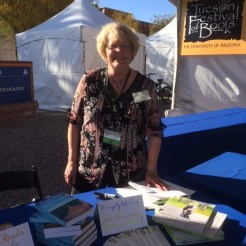 Tucson Festival of Books, March 13, 2016, at Univ. of AZ, Tucson, AZ