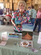 Norma Knapp Scoria Roads book signing near Montevideo