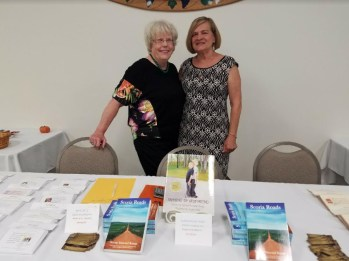 Book signing at Christ the King Church, Moline, IL