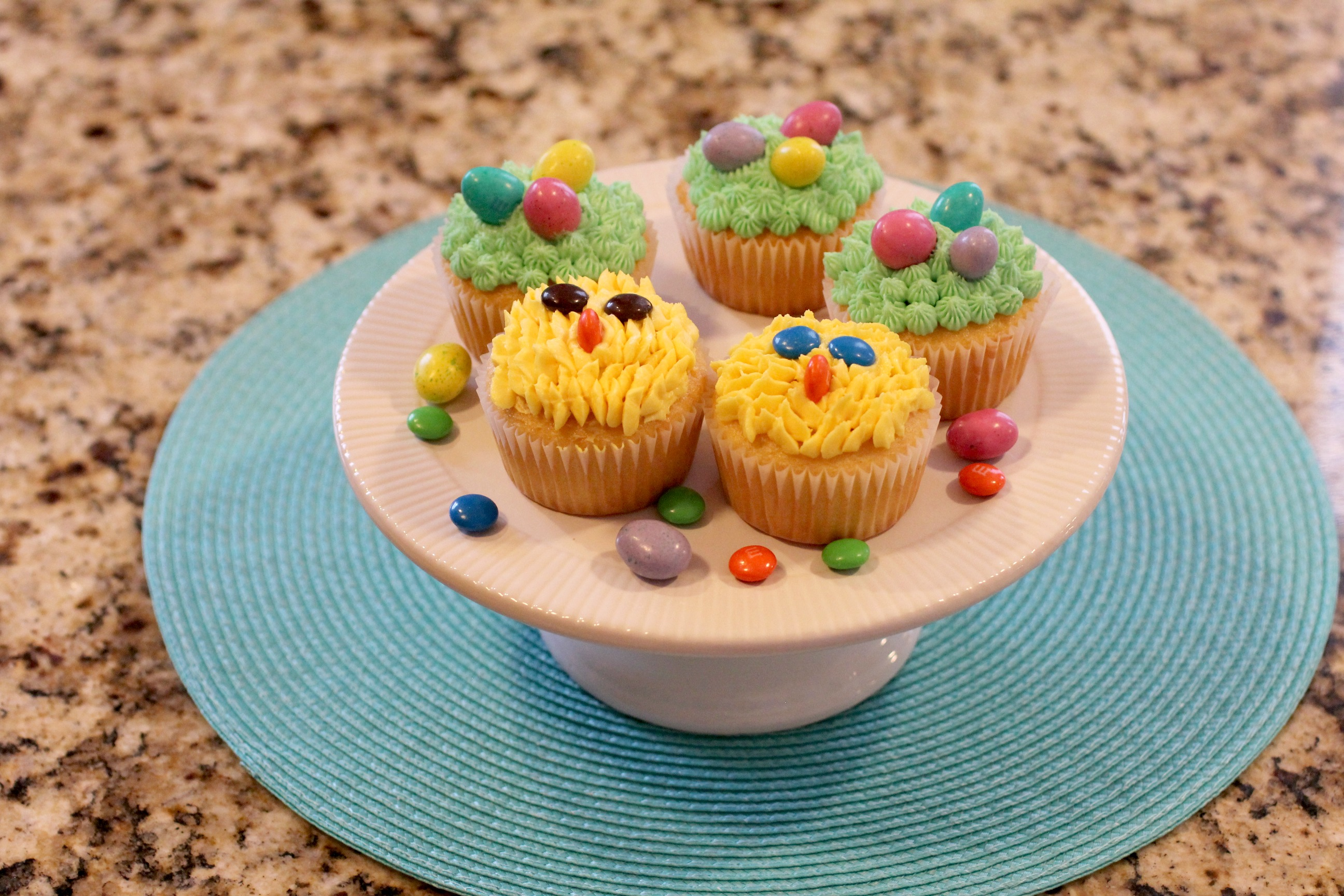 Easter Cupcakes With Buttercream Frosting
