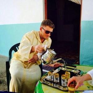 Thee drinken in Marokko