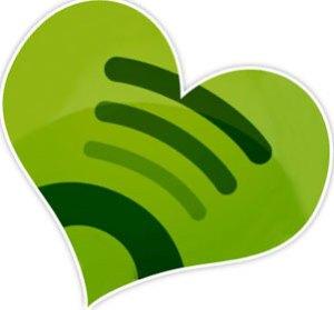 Romantische afspeellijst op Spotify
