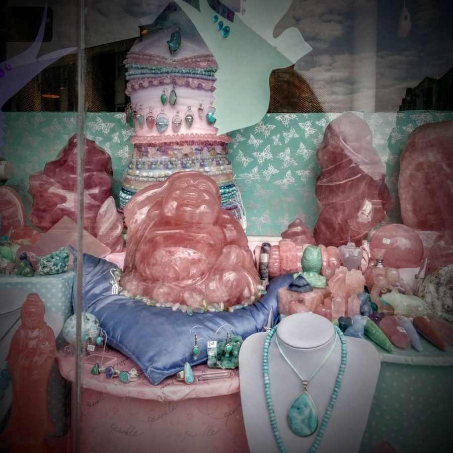 Glastonbury - The Spiritual Supermarket - Normal For Glastonbury