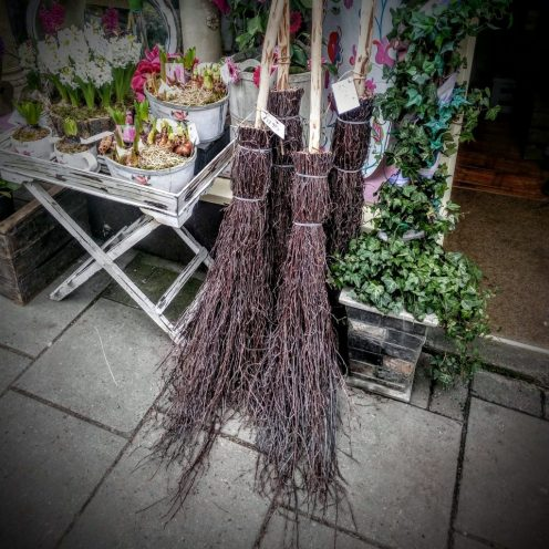 Glastonbury High St Broomsticks
