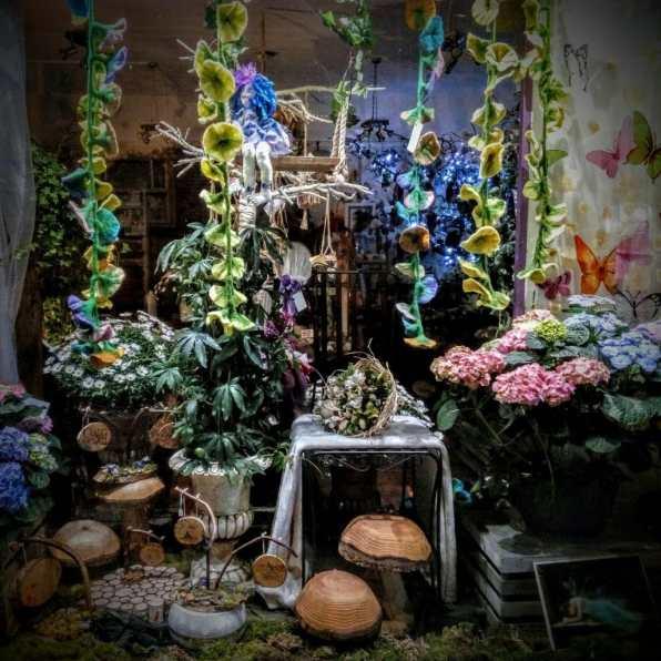 Enchanted Florals at night