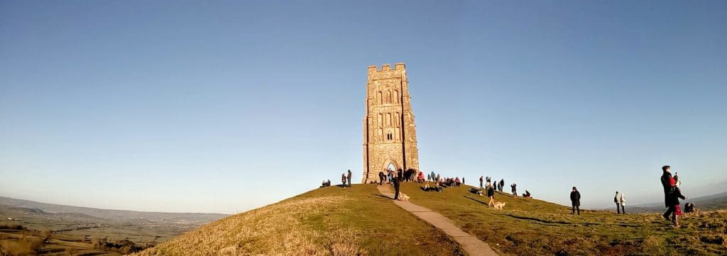 Buskers, Occultists and Pizza – Spring in Glastonbury