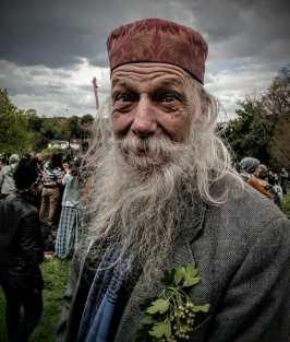 Charley Barley, May Day Celebration 2017 on Bushy Coombe, May Pole, Glastonbury