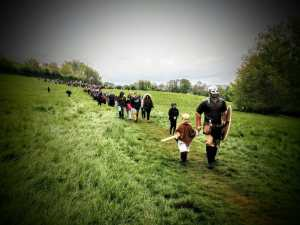 Beltane Celebration, Glastonbury Tor 2017
